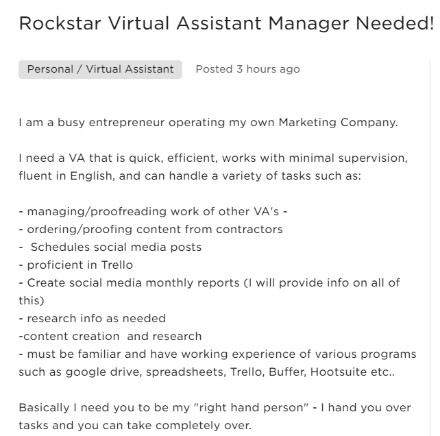 Cover Letter Sample For Virtual Assistant from homebasedpinoy.com